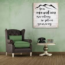 Your Mountain Is Waiting Hand Painted Salvaged Wood Wall Decor ... 27 Best Rustic Wall Decor Ideas And Designs For 2017 Fascating Pottery Barn Wooden Star Wood Reclaimed Art Wood Wall Art Rustic Decor Timeline 1132 In X 55 475 Distressed Grey 25 Unique Ideas On Pinterest Decoration Laser Cut Articles With Tag Walls Accent Il Fxfull 718252 1u2m Fantastic Photo