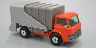 Toy, Matchbox Refuse Truck (rubbish Truck), Ford, No. 7, Metal ...