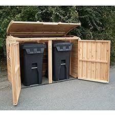 Can Shed Cedar Rapids Hours by Amazon Com 6 U0027x3 U0027 Oscar Waste Management Shed Garden U0026 Outdoor