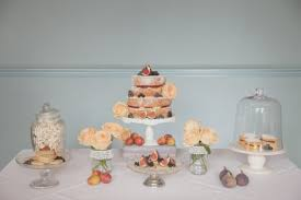 Positively Oozes Rustic Charm Speckled With Figs Berries And Blooms This Dessert Table From Cornish Fancies Is Ripe Rich Autumnal Appeal