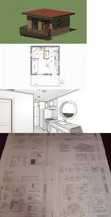 Modern Houseplans Gebäudebausätze Tiny Modern Style House Plans 256 Sq Ft With