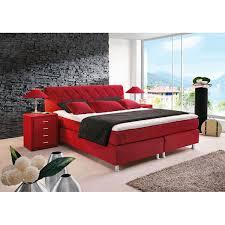 bugatti bett stoffbezug rot ca 180 x 200 cm