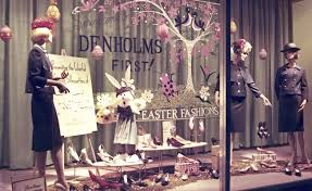 An Easter Window Display That Reminds Us We Need New Clothes For Holiday And
