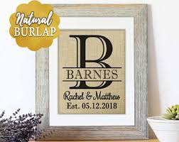 Personalized Gifts Wedding For Couple Bridal Shower Gift Women Mr And