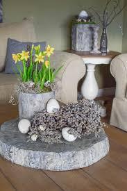 gedecktes oster arrangement für tisch und sideboard mrs