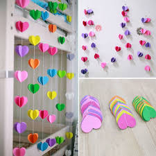 Haodeba 17M Diy Birthday Party Colorful Paper Garlands Wedding Boda Supplies Decorations Heart Honeycomb Ball Ornaments In DIY From Home