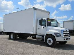 2016 Used HINO 268 (24ft Box Truck With Liftgate) At Industrial ...