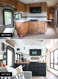 RV Kitchen Renovation Rv TravelTravel Trailer