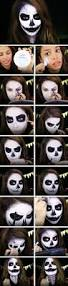 Halloween Half Mask Makeup by 17 Halloween Makeup Tutorials So Cool You Won U0027t Even Need A
