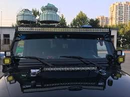 New 52 Inch Aluminum Led Light Bar Mounting Bracket For Jeep