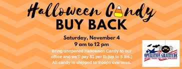 Operation Gratitude Halloween Candy Buy Back by Halloween Candy Buy Back 2017