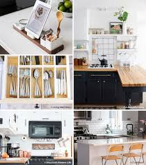 Small Kitchen Organizing Ideas 45 Big Ideas For Your Tiny Kitchen Kitchen Cabinet