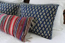 My Secret For Textured Bohemian Pillows