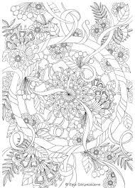 Size Dream Catcher Coloring Page COLORS OF LIFE