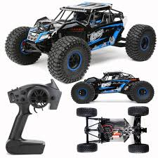 Losi LOS03009T2 1/10 Brushless Rock Rey 4WD RTR Racer With DX2E ...
