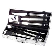 chef s basics select 6pc stainless steel bbq set walmart