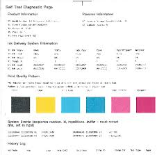 Figure Self Test Diagnostic Page