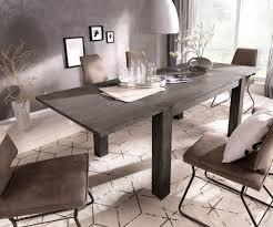 esszimmertisch indra akazie platin 140 240x90 cm massivholz ausziehbar esstisch