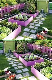 Edging Ideas For Garden Beds Paint Pallet Garden Edging Creative