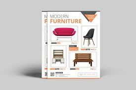 Furniture Sale Flyer Templates Creative Market
