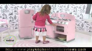 KidKraft Pink Retro Kitchen and Refrigerator Review