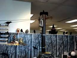 halloween cubicle decorations 2010 youtube