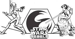 Tar Wars Rebels Coloring Pages And Activity Sheets
