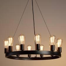 chandeliers design amazing light edison bulb chandelier
