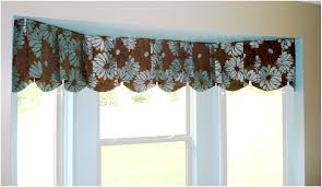 Kitchen Curtain Ideas For Bay Window by Kitchen Window Valances Ideas For A Border U2013 Home Design And Decor
