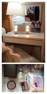 Ikea Micke Desk Assembly by Small Bedside Vanity With Ikea Micke Desk Acrylic Drawer