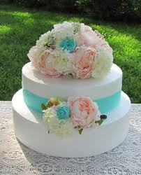 Custom Wedding Cake Tops Flower Topper Decorative Flowers For Cakes Shown In Pink