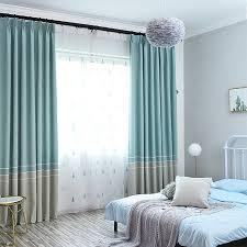 Schlafzimmer Vorhã Nge Einfache Moderne Nordic Vorhänge Für Wohnzimmer Schlafzimmer Baumwolle Abschirmung Gestreiften Balkon Vorhang Stoff