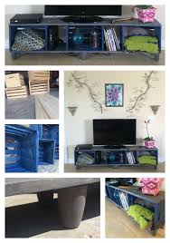 How I Made A TV Stand With Wooden Crates DIY Kristin Omdahl