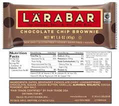 Larabar Nutrition Cherry Pie Lara Bar Nutritional Facts