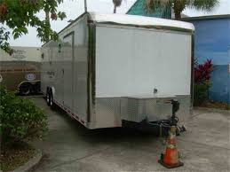 Large Picture Of 06 28 Foot Enclosed Trailer