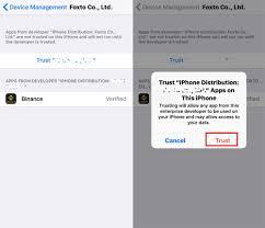 How to Install Binance iOS APP – Binance