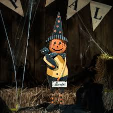 Halloween Witch Yard Stakes by Glitzhome Iron Halloween Boo Ghost Garden Yard Stake Scary Party