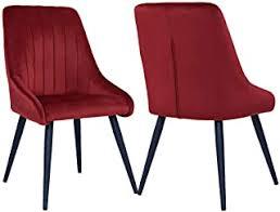 suchergebnis auf de für samt stuhl rot möbel