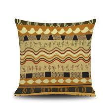 canapé style indien totem de style indien housse de coussin de housse de