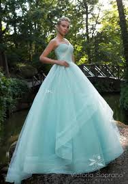 light blue sequin tulle ball gown wedding dresses 2017 victoria