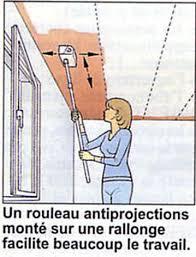 comment peindre un plafond sans trace de design unique