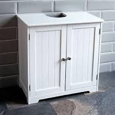 Priano Bathroom Sink Cabinet Under Basin Unit Cupboard Storage