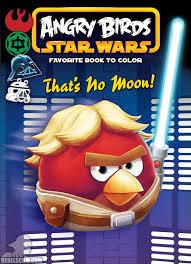 Angry Birds Star Wars Thats No Moon Coloring Book