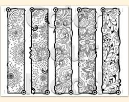 Zendoodle Bookmarks DIY Zentangle Inspired Hearts And By JoArtyJo