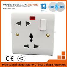 free sles wall switch socket brand xiantai 1gang 5 pin wall