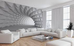 moderne wohnzimmer tapeten ideen 3d tapetenentwürfe für