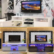 Cassia 150u2033 TV Wall Unit Storage Bookcase TV Stand