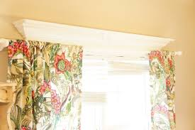No Drill Curtain Rod Brackets by How To Hang Curtain Rods On Windows With Decorative Molding