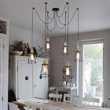 Valuable Inspiration Industrial Dining Room Lighting 49