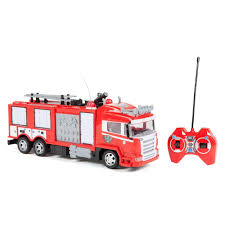 World Tech Toys Remote Control Fire Rescue Truck, Multicolor | Tech ... 40mhz 158 Mini Fire Engine Rc Truck Remote Control Car Toys Kids Dickie Action Series 16 Garbage Walmartcom Rescue Kid Toy Vehicle Lights Water Kidirace Rechargeable Ladder Baby Educational Cartoon For Toddlers Radio Control Fire Engine In Leicester Leicestershire Gumtree Cheap Rc Find Deals On Line At Alibacom 8027 Happy Small Children Brands Products Wwwdickietoysde